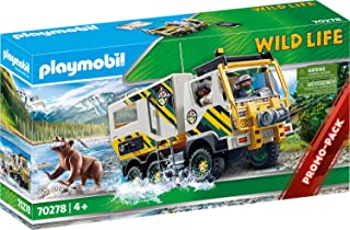 Playmobil 70278 Wild Life Outdoor Expedition Truck, for Children Ages 4+