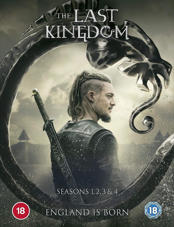 The Miami Mall Last Kingdom season 1-4 Direct store DVD 2020 boxset