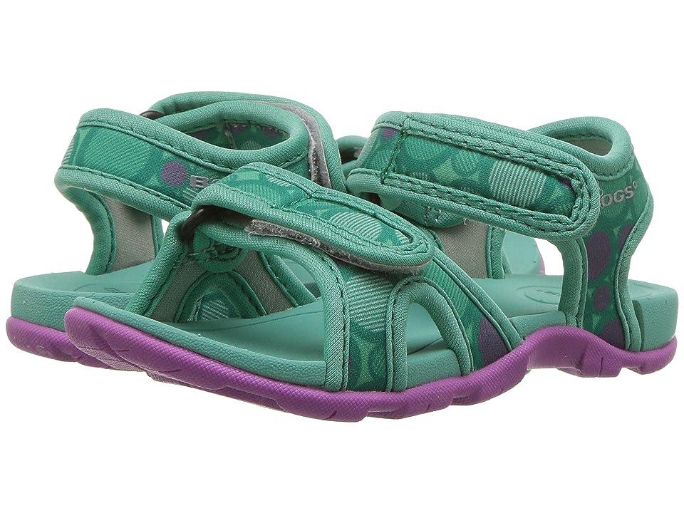 Bogs Kids Whitefish Multi Dot (Toddler/Little Kid) (Turquoise Multi) Girls Shoes