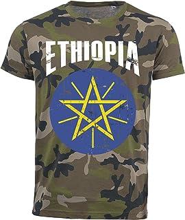 Amazon.es: etiopia camiseta: Deportes y aire libre