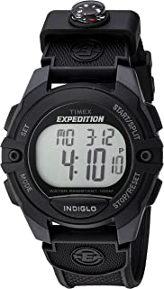 Men's Expedition Classic Digital Chrono Alarm Timer Full-Size Watch
