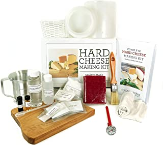 DIY Hard Cheese Making Kit - Learn how to make Gouda, Colby, Manchego and Cheddar Cheese from scratch