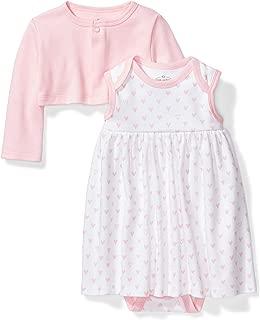 Baby Girls' Organic Dress and Cardigan Set