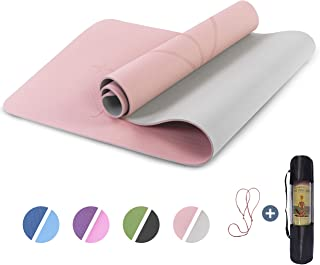 UMINEUX Yoga Mat Non Slip, Pilates Fitness Mats with...