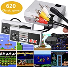 Classic Mini Retro Game Console 1980's Game with Built-in 620 Games and 2 NES Classic Controllers,AV Output,Children Gift,...