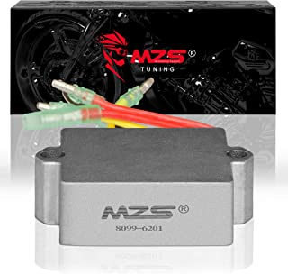 MZS Voltage Regulator Rectifier 6 wire for Mercury Mariner Outboard 883072T 815279-3 815279-5 815279T 830179-2 830179T 854515 856748 883072