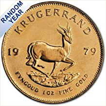 (1967 to Date) 1 oz Gold Krugerrand South African Mint Uncirculated