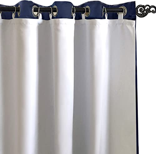 45 x 56 Rod Pocket Single Curtain Liner Size