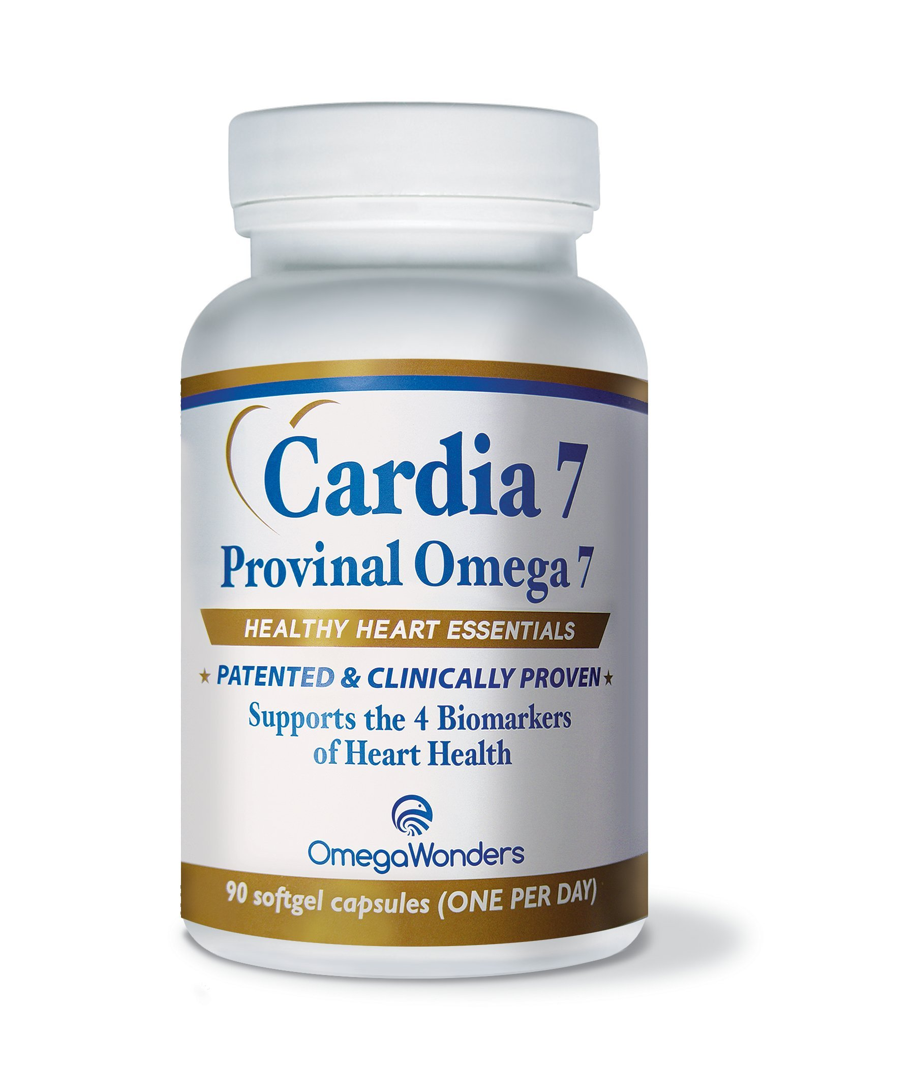Cardia 7 Purified Provinal Omega 7 Fatty Acids Compare To Omega