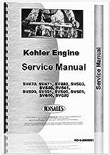 Kohler SV Series Engines Service Manual