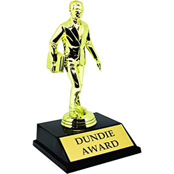 Alpha Awards Dundie Award Trophy for The Office