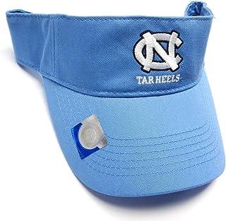 info for b83b8 86c39 North Carolina Tar Heels UNC NCAA Light Blue Golf Sun Visor Hat Cap Adult  Men s Adjustable