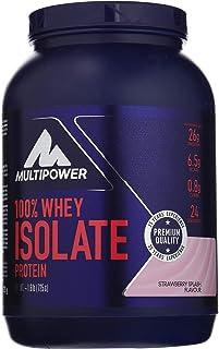 Multipower 100% Whey Isolate, Sabor Strawberry Splash - 725 gr