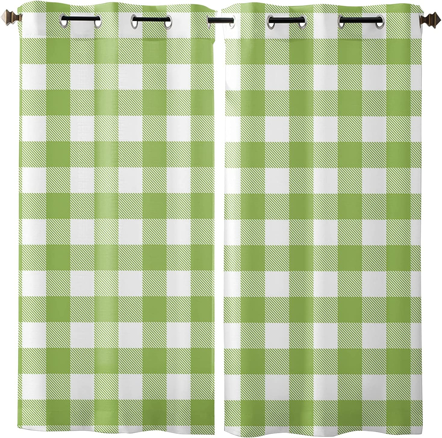 Fees free Window All items free shipping Curtain Panels Set of 2 for Drapes Grommet Livi Curtains