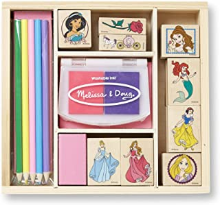 Melissa & Doug Disney Princess Wooden Stamp Set