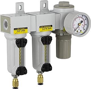 PneumaticPlus SAU2030M-N02DG-MEP Mini Three Stage Air Drying System, 1/4