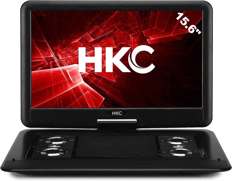 Hkc D16hm 40 Cm Tragbarer Dvd Player Schwarz Elektronik