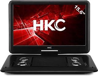 HKC D16HM 39,62 cm (15.6 Pouces) Lecteur DVD Portable, écran pivotant, Carte SD, Port..