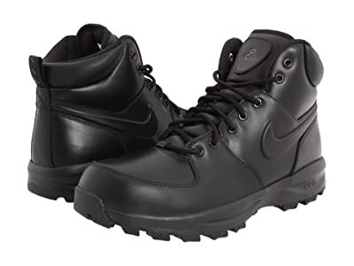 Nike Manoa Leather (Black/Black/Black) Men