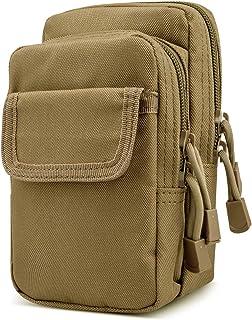SPAHER Unisex Bum Waist Bag Travel Hiking Outdoor Sports Money Hip Pouch Molle EDC Utility Gadget Belt Cell Phone Holster ...