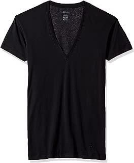 Pima Cotton Slim Fit Deep V-Neck T-Shirt Underwear