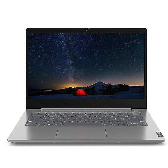 Lenovo ThinkBook 14 Intel Core i3 10th Gen 14-inch Full HD Thin and Light Laptop (4GB RAM/ 1TB HDD/ Windows 10 Professional/ Mineral Gray/ 1.5 kg), 20SL005TIH