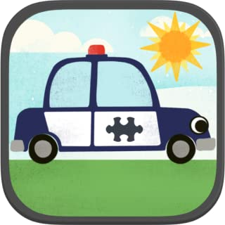Car Games for Kids: Fun Cartoon Airplane, Police Car, Fire Truck, and Vehicle Jigsaw Puzzles HD for Toddler and Preschool ...