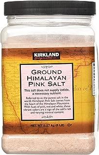 Best kirkland ground himalayan pink salt Reviews