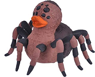 Wild RepublicRubber Duck,Tarantula,Gift for Kids, GreatGift for Kids and Adults, 10 cm