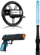 dreamGEAR 3 in 1 Game Essentials Plus for Wii - accesorios y piezas de videoconsolas (Negro, Inalámbrico)