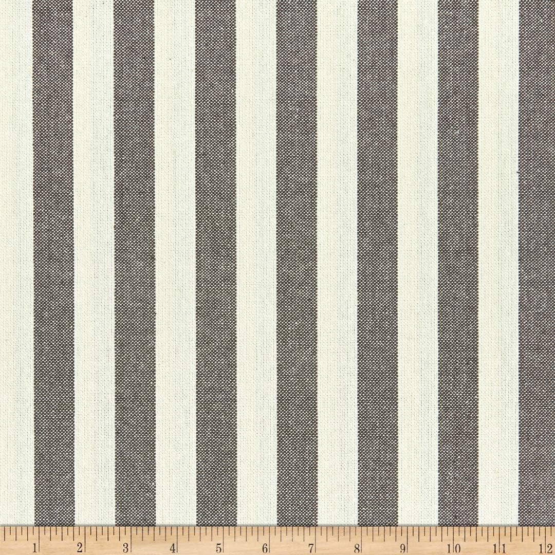 Big Duck Canvas Windmill Linen Stripes Black