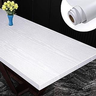 الحد الأدنى الحديث تنقش لفة خلفية Wood Grain Wall Stickers Self Adhesive Waterproof Wallpaper PVC Kitchen Cabinet Wardrobe...