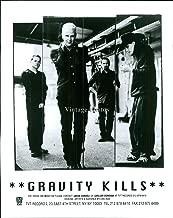 Vintage Photos 1998 Band Gravity Kills New York City Musician Photo 8X10