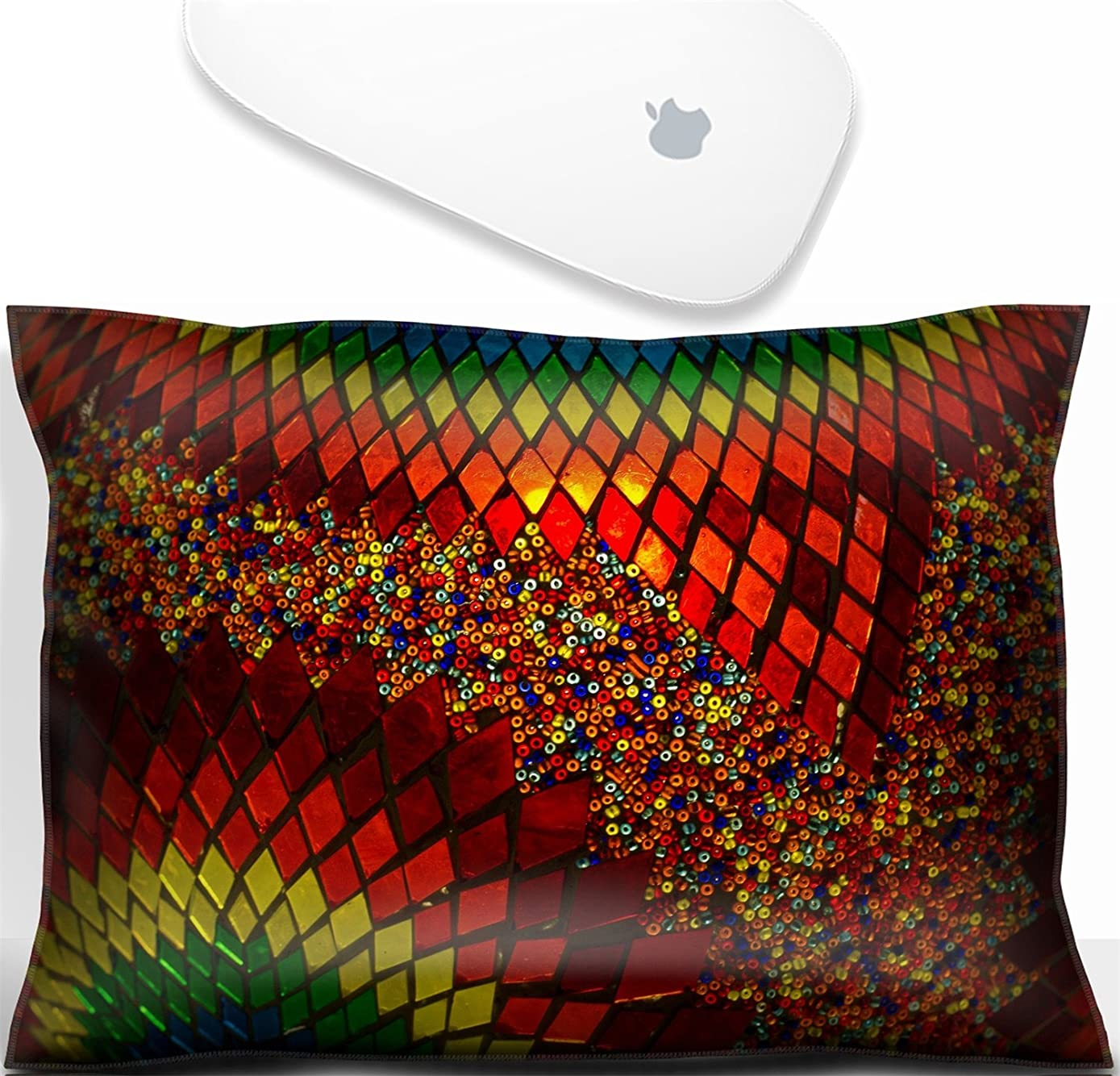 Luxlady Mouse Wrist Rest Office Decor Wrist Supporter Pillow IMAGE: 43647770 Background texture of traditional multicolored turkish lamp hanging at the Grand Bazaar in Istanbul Turkey
