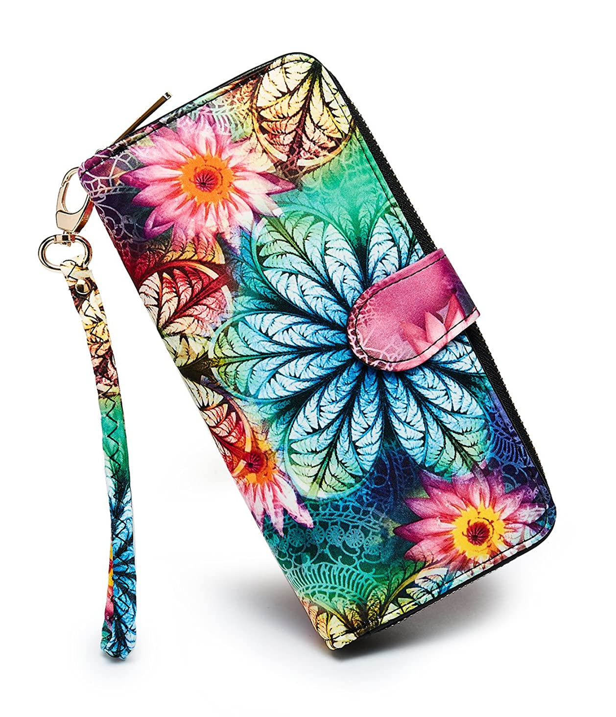 LOVESHE Women's New Design Bohemian Style Purse Clutch Bag Card Holder New Fashion Wristlets Wallets