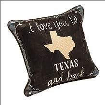 MW I Love You to Texas & Back Kd12 Dye وسادة 12. 5X12. 5