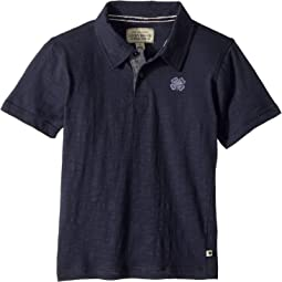 Lucky Brand Kids Short Sleeve Washed Polo (Little Kids/Big Kids)
