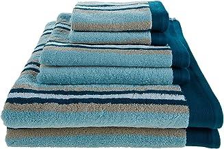 مجموعة مناشف حمام فاخرة من قطعتين من القطن الممشط 100% من سوبيرير كوليكشن، لون رغوة البحر