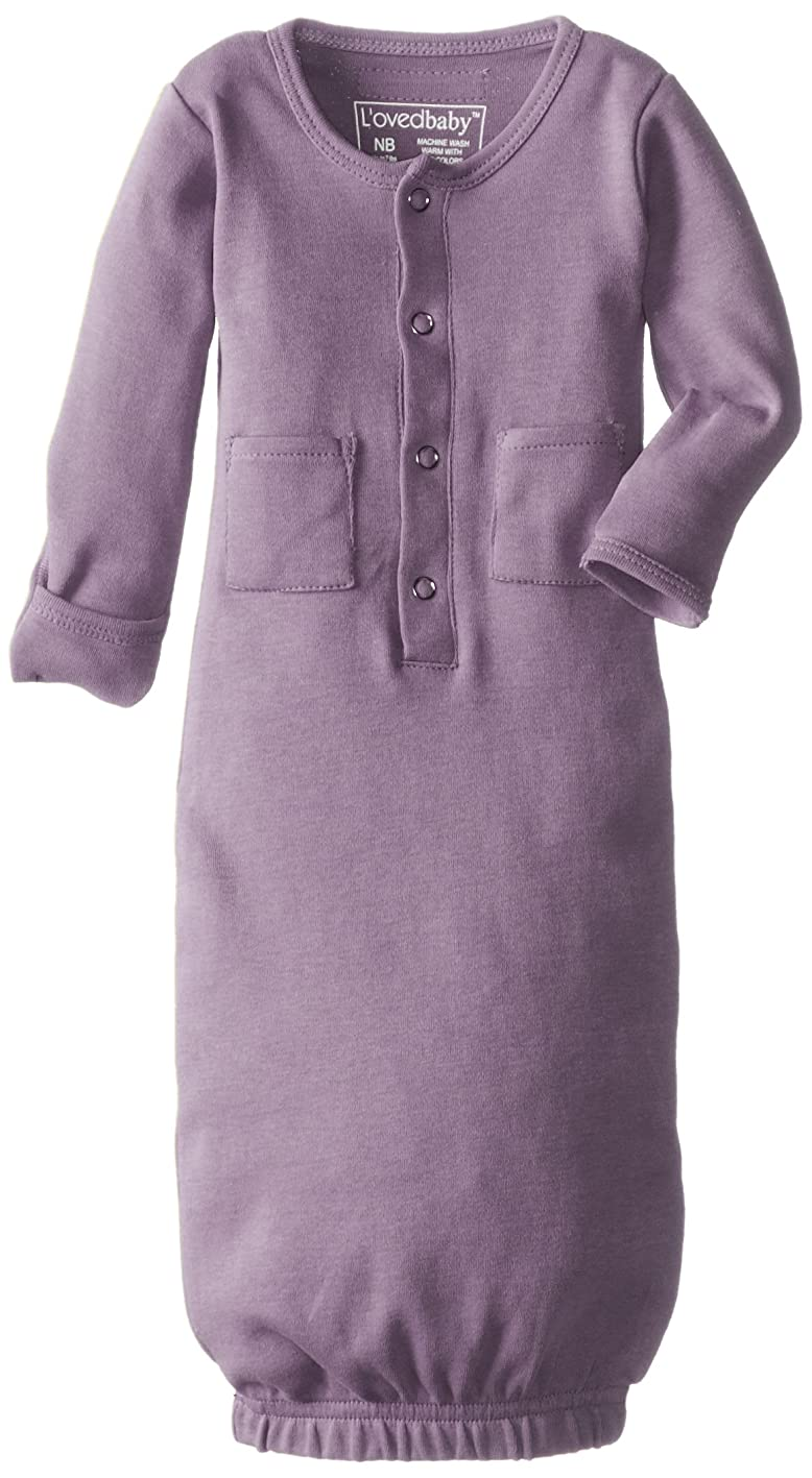 L'ovedbaby Organic Infant Gown peixljinvqa659