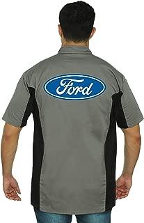 Men's Mechanic Work Shirt Ford Built Tough