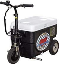 Cruzin Cooler CZ-HB Basic Motorized Ice Chest Scooter, 9 MPH Top Speed