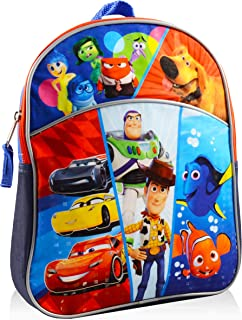 Disney Pixar Mini Backpack for Boys Girls Toddlers Kids ~ Premium 11 Backpack Bundle Featuring Toy Story, Disney Cars, Finding Nemo, Inside Out, and UP (Disney School Supplies)