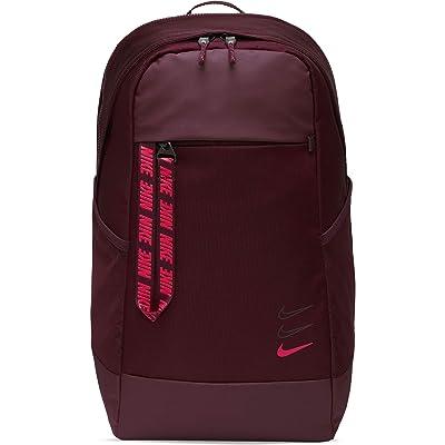 Nike Sportswear Essentials Backpack (Night Maroon/Night Maroon/Laser Crimson) Backpack Bags