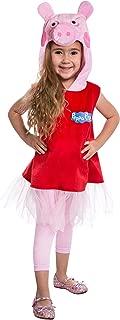 Peppa Pig Ballerina Costume Small (4-6) Red