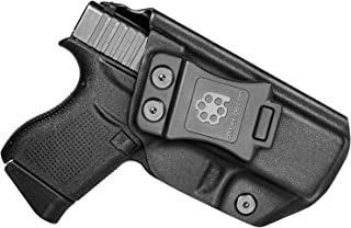 Amberide IWB KYDEX Holster Fit: Glock 43/43X | Inside Waistband | Adjustable Cant | US KYDEX Made