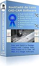 RoutCad de Luxe CAD-CAM Software CNC Mill