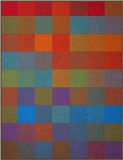 Biederlack Knuffeldeken kleurrijk, sofadeken 100% katoen, 150 x 200 cm