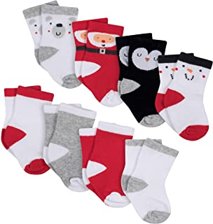 Gerber Baby 8-Pair Wiggle Proof Sock