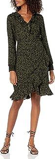 Vero Moda womens Henna Smock Short Wrap Dress Casual Dress