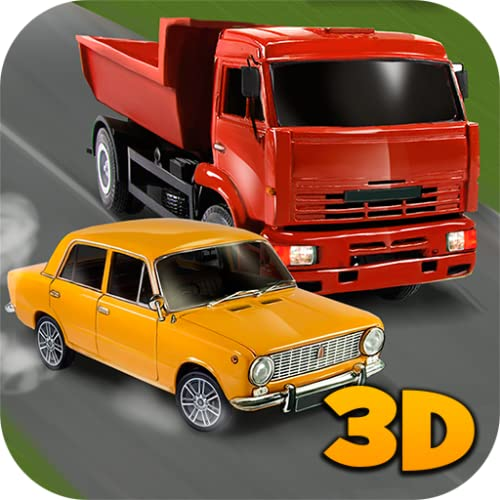 Russian Car Traffic Racer 3D: Accident Simulator | Russian Car Driver Road Rash Traffic Control Road Hogs